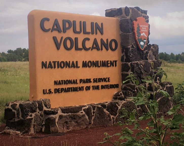Welcome to the Capulin Volcano National Monument, where you can learn about and stand in the middle of a dormant volcano.